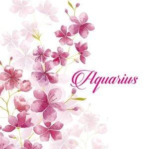 Aquarius On Cherry Blossom