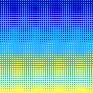 Blue Green Dotted Pattern