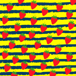 Summer Strawberry Pattern