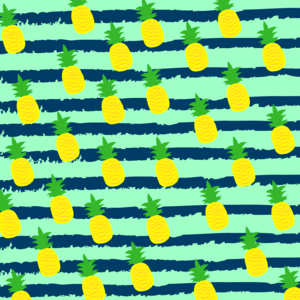 Summer Pineapple Pattern
