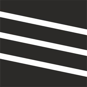 Diagonal Classy Stripes Black