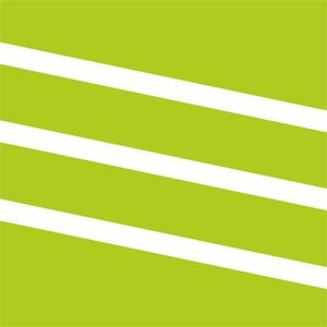 Diagonal Classy Stripes Green