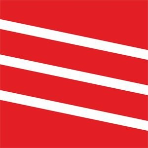 Diagonal Classy Stripes Red