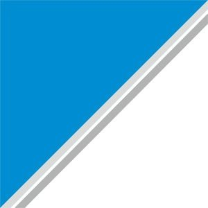 Dual Color Blue White Strips