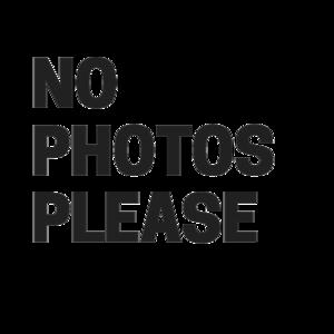 No Photos Please On Yellow