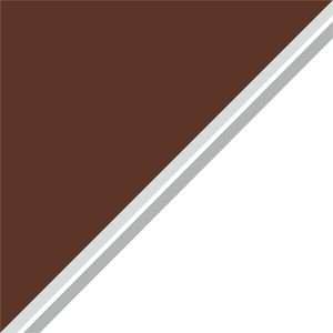 Dual Color Brown White Strips