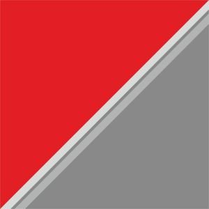 Dual Color Red Grey Shades