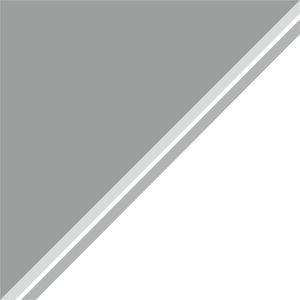 Dual Color Grey White Strips