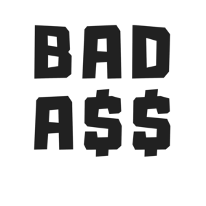 Bad Ass On Red