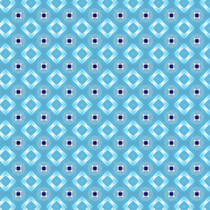 Blue Diamond Pattern