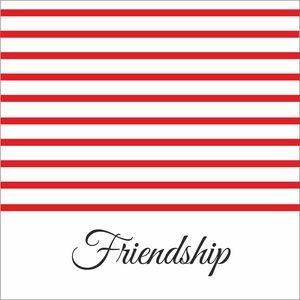 Red Strips Friendship