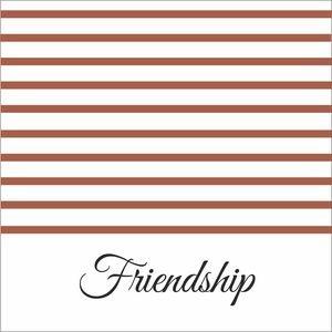 Brown Strips Friendship