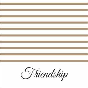 Wooden Strips Friendship