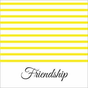 Yellow Strips Friendship