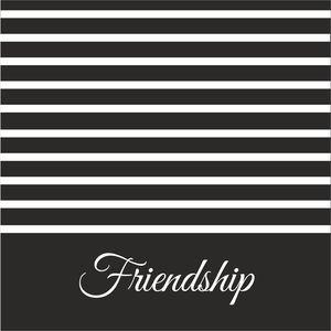 White Strips Friendship