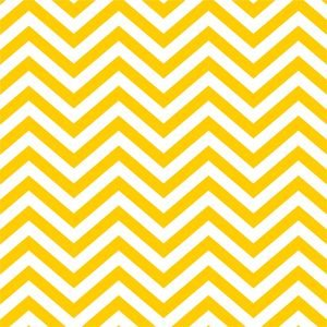 Ethnic Yellow Zig Zag
