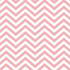 Ethnic Pastel Pink Zig Zag