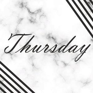 Elegant Thursday On Marble Print