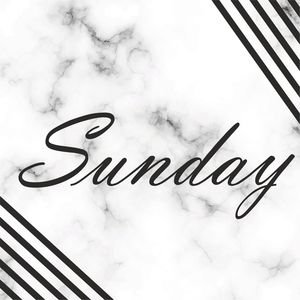 Elegant Sunday On Marble Print