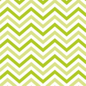 Dark And Light Green Zig Zag