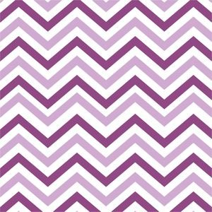 Ethnic Dark And Light Purple Zig Zag