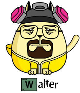 Walter White The Cat Breaking Bad