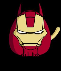 Iron Man Cat