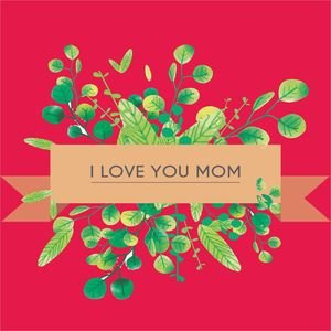 I Love You Mom In Pink