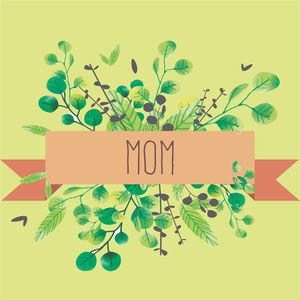 Mom Typography With Design