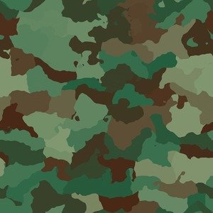 Seamless Army Pattern