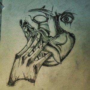 Psychedelic Half Face