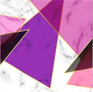 Purple Abstract Marble