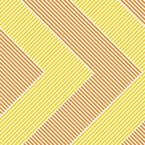 Geometric Pattern In Orange Yellow