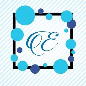 Memphis Alphabet E