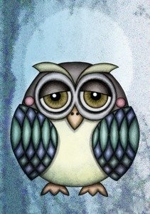 Owl Illustration 2