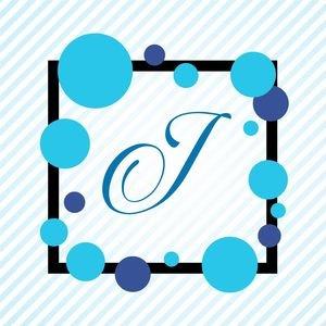 Memphis Alphabet J