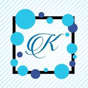 Memphis Alphabet K