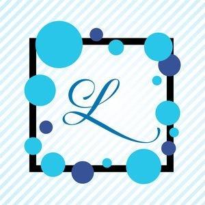 Memphis Alphabet L