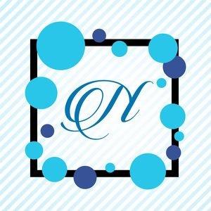 Memphis Alphabet N