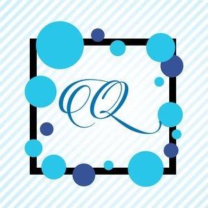 Memphis Alphabet Q