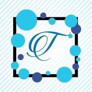 Memphis Alphabet T