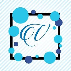 Memphis Alphabet V