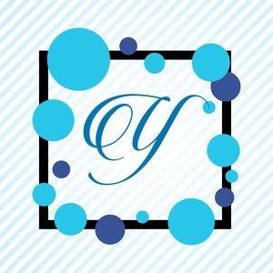 Memphis Alphabet Y