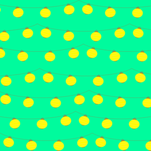 Yellow Lights Pattern
