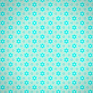 Blue Floral Pattern 3