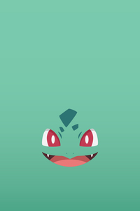 Pokemon Bulbasaur On Soft Green