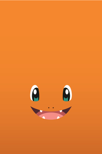 Pokemon Charmander On Orange