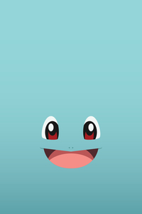 Pokemon Squirtle On Blue