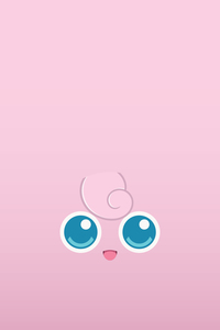 Pokemon Jigglypiff On Pink