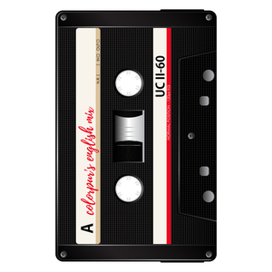 English Mix Cassette Black
